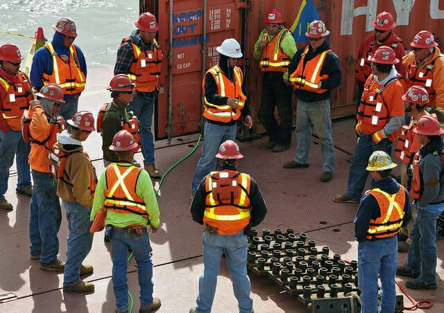 construction safety demonstration