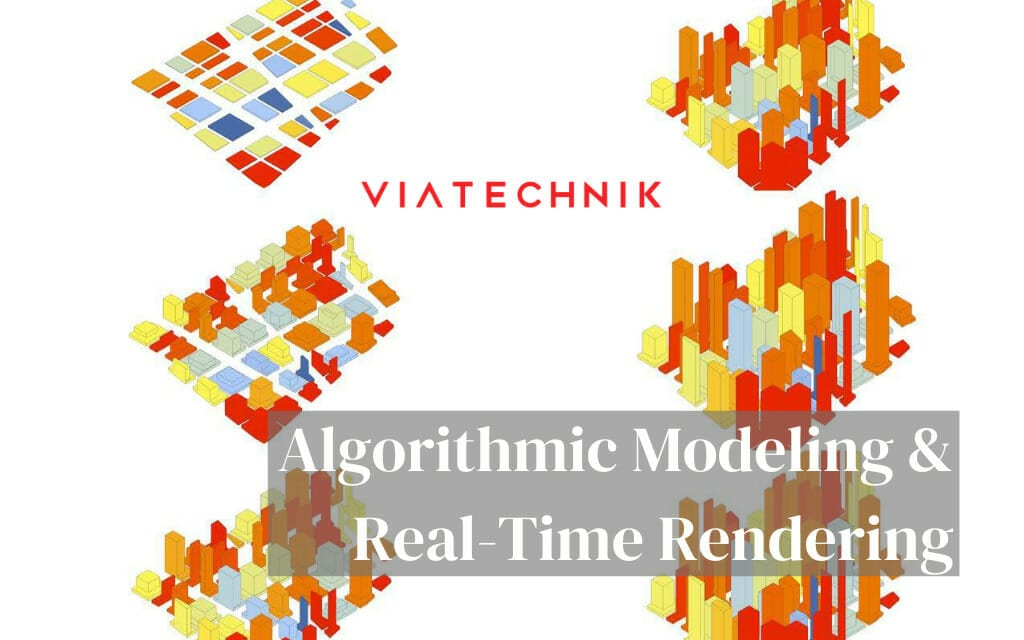 algorithmic modeling and real-time rendering